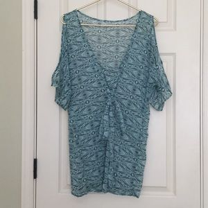 EUC O'neill Swim Cold Shoulder Coverup